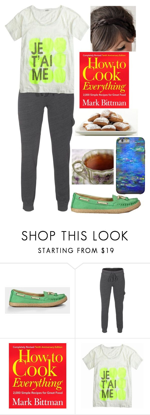 """""""Disney Loungewear: Tiana"""" by plum-and-peaches on Polyvore featuring UGG Australia, Splendid and J.Crew"""