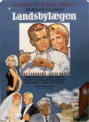 Landsbylægen (1961) En ung læge kommer til byen, og trætter de unge pige hjerter i brænd.