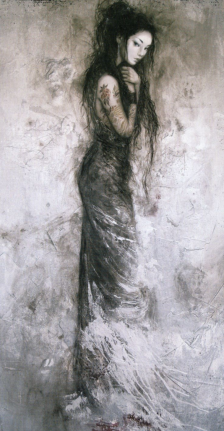 Luis Royo  Yama (Mountain)  (off 'Dead Moon')