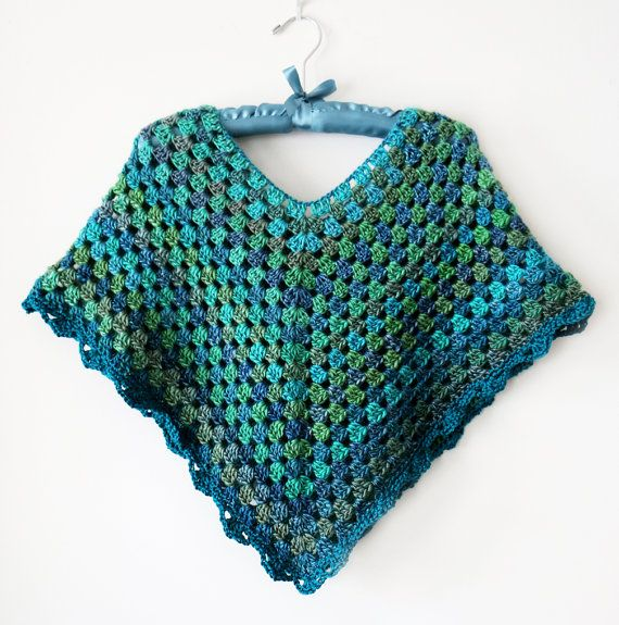 How Adult crochet patterns for ponchos
