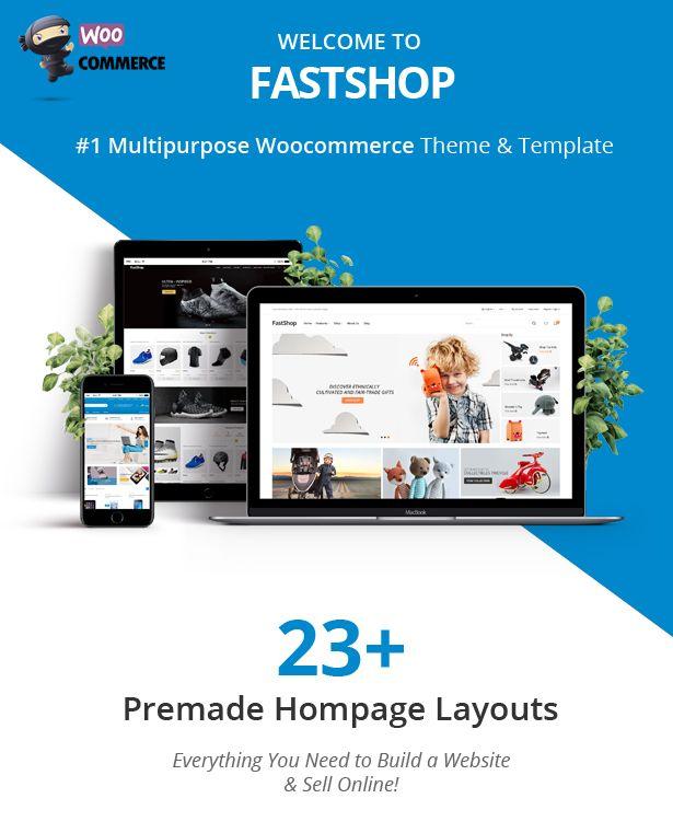 Fast Amazing Woocommerce WordPress Theme Rtl Supported