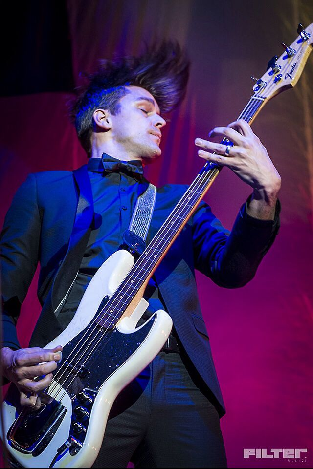 Wallpaper Fall Out Boy Dallon Weekes Oh Baby Those Hands And Hair Sexy