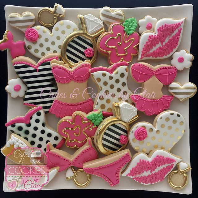 Wedding, Bridal, Bachelorette, Lingerie and Naughty Cookies