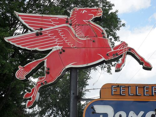 Have always loved The Flying Red Horse~