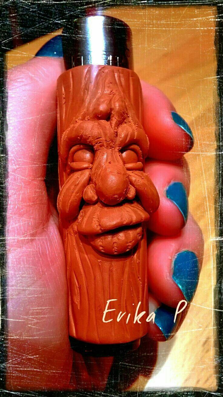 Clipper fimo soft per il mio amore Stefano. Clipper light cover fimo hand made by Erika P.