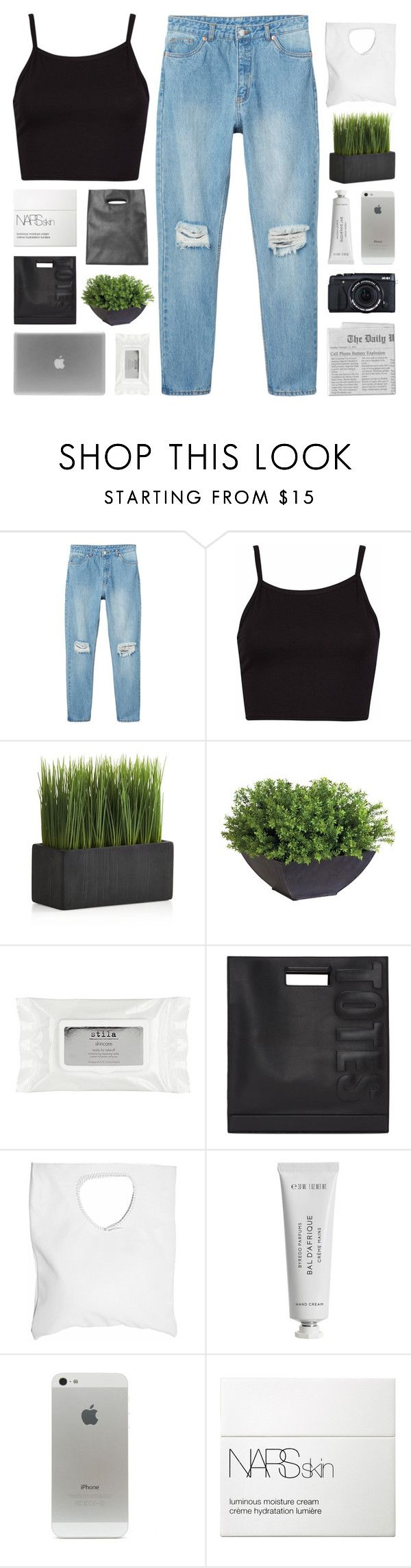 """""""-- 500,000 LIKES"""" by feels-like-snow-in-september ❤ liked on Polyvore featuring Monki, Crate and Barrel, Ethan Allen, Stila, Fujifilm, 3.1 Phillip Lim, Jennifer Haley, Byredo, NARS Cosmetics and snowinseptembertopsets"""