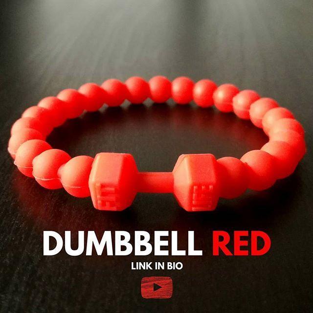 Nieuwe video | perfect voor alle #gymbazen & #gymbazinnen | Dumbbell Red  . LINK IN BIO . #VILLIN #gym #dumbbell #gymbazen #gymbaas #wristwear #wristgear #wristgame #armband #stijl #gekkigheid #silicon #siliconen #rood #red #training #fit #stijl #sportschool