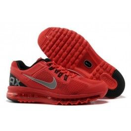 Shop Half off Nike Air Max 2013 Kids Total Crimson Black White 554886 801  Cheap Nike Air Max