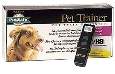 Petsafe 10 meter pet trainer om honden op afstand te houden  veel honden begrijpen veel maar hebben moeite met de 'menselijke taal'. deze lijkt immers heel weinig op de 'hondentaal'. hierdoor kan de communicatie tussen mens en dier soms nogal stroef verlopen. met de pet trainer wordt u in staat gesteld de training duidelijker te maken voor de hond middels signalen die voor de hond makkelijk op te pikken zijn. speciale geluiden gekoppeld aan goed en ongewenst gedrag zullen ervoor zorgen dat…