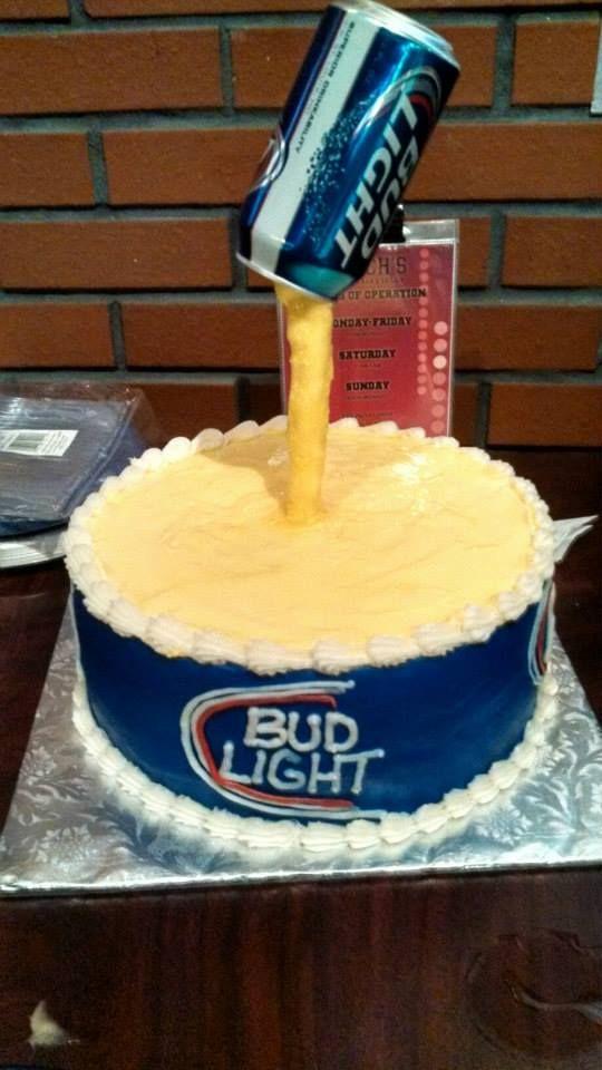 bud light cake # 4