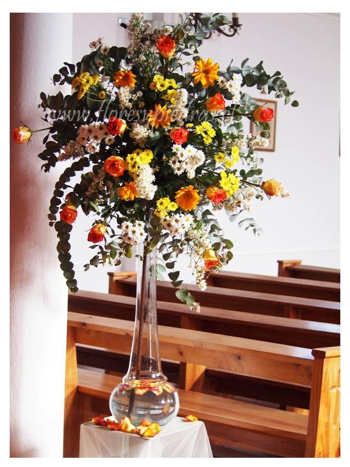 Decoración para bodas Flores y Piedras www.floresypiedras.cl