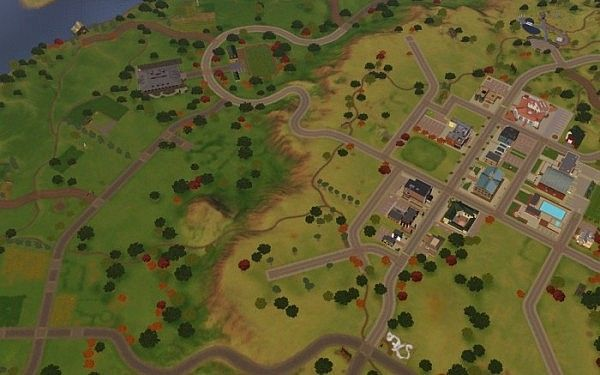 Appaloosa Plains world CLEANDED by Lea.Sikora for Sims 3