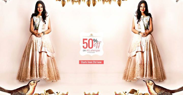 #StyleSell #BridalFestival #Offer- Get 50% OFF on ALL the Lahengas in the store! <3  Offer starts from 21st June!  StyleSell proudly presents to you its exquisite Summer Bridal Collection '17 to make your wedding shopping experience amazing and value for money!  Terms and Conditions- 1) No return and exchange policy. 2) No alteration service available for dresses. 3) No booking service available.  Our Shop address: Showroom 1: South Avenue, Gulshan 1 (Just beside Gulshan 1 DCC Market on the…