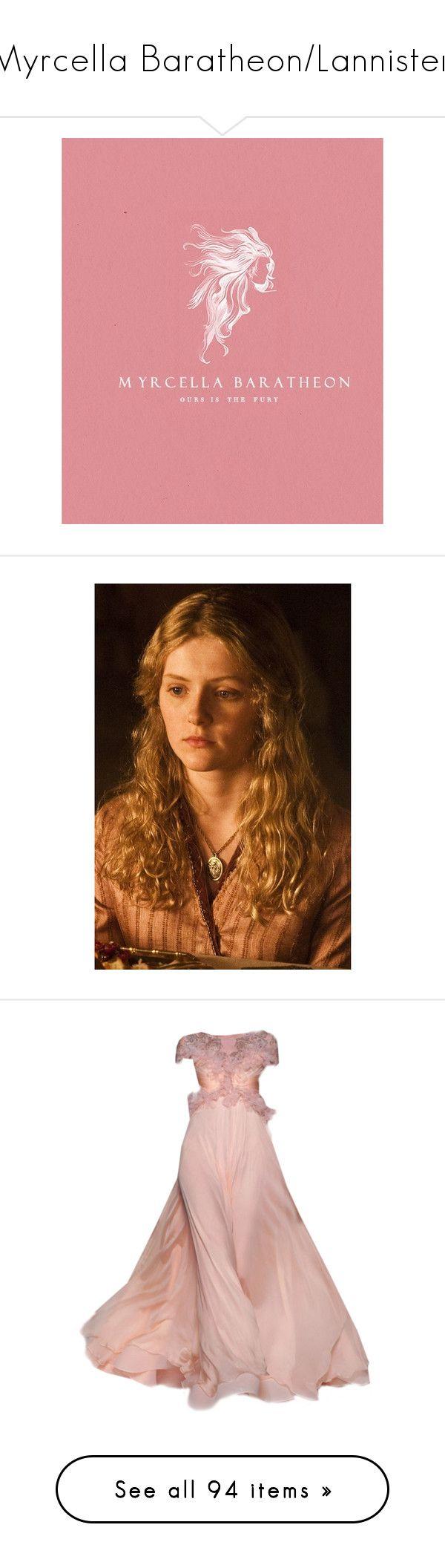 """Myrcella Baratheon/Lannister."" by lillian-pandola ❤ liked on Polyvore featuring got, asoiaf, myrcellabaratheon, gameofthones, game of thrones, myrcella, models, house baratheon, flowers and fillers"
