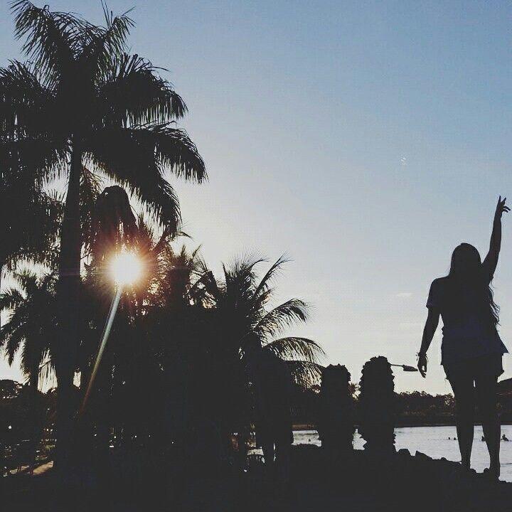 Por do sol , nature , natureza , coqueiro , tumblr , girl , trip , sun , summer , photograph , vsco