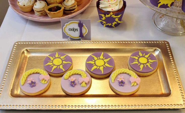 Rapunzel / Tangled Birthday Party Ideas | Photo 2 of 12 | Catch My Party