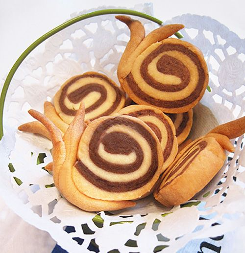 snail cookies tutorial - crafts ideas - crafts for kids