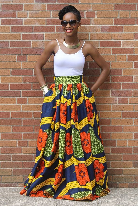 Hey, I found this really awesome Etsy listing at https://www.etsy.com/listing/216228253/african-print-skirt-skirt-african: