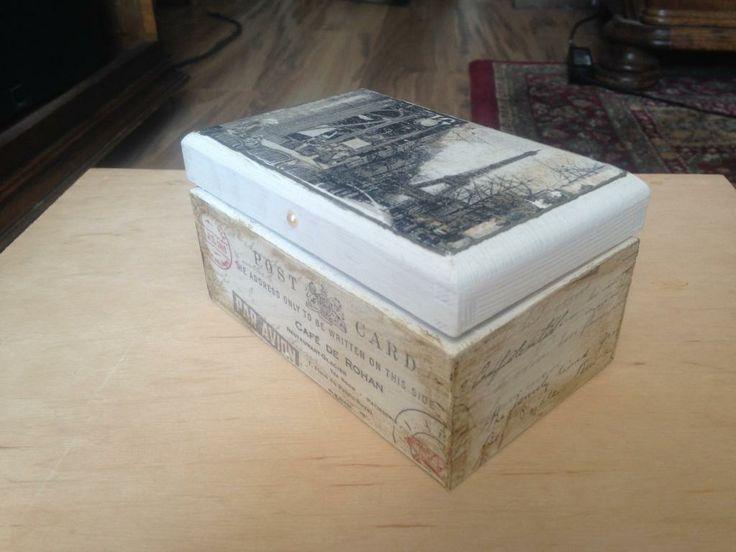 walentynki! super okazja ! pudełko rustykalne