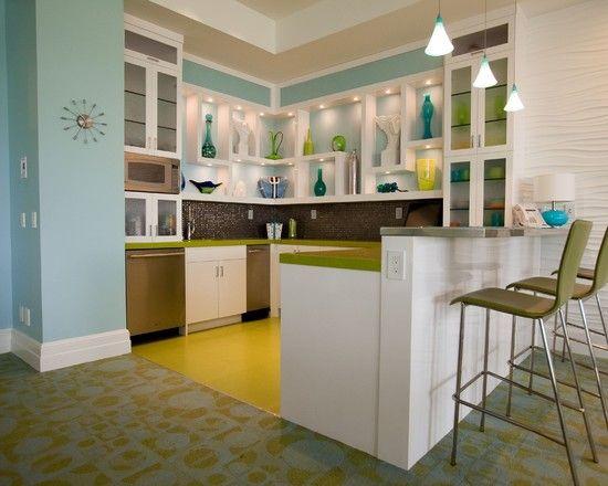 17 best images about coastal decor on pinterest living for Retro modern kitchen ideas