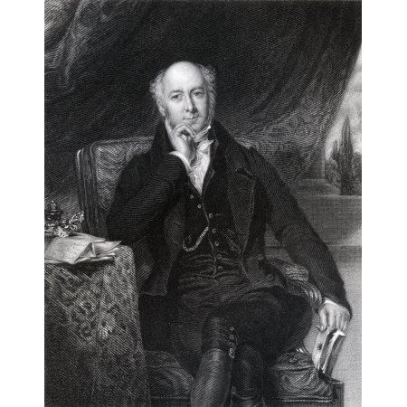 Sir Charles Mansfield Clarke 1St Baronet 1782 To 1857 English Obstetrician Engraved By J Cochran After S Lane From The Book The National Portrait Gallery Volume 1 Published C1820 Canvas Art - Ken Wels