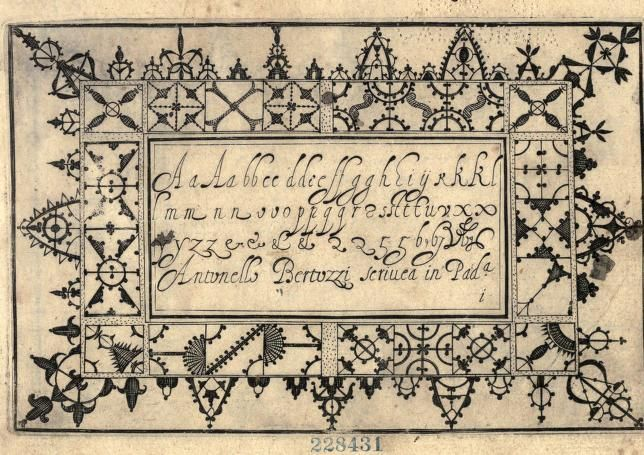 Book on Lace- 1640