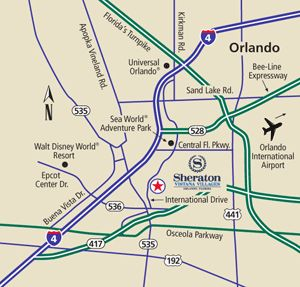 Sheraton Vistana Villages Orlando Florida near Disney World - WDWINFO.COM