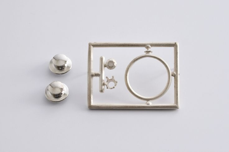 """""""Do it yourself jewellry kit"""" by Ted Noten."""