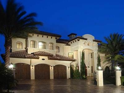 <ul><li>If you seek architectural elegance on a grand scale, this luxury home plan is for you. This Spanish-influenced home features a beautiful and bold entrance, six bedrooms, seven-and-one-half bathrooms -- an ultimate combination of tradition and opulent amenities of modern living. </li><li>The grand foyer is impressive and leads you to a large living room with a regal fireplace crowned by stepped ceilings. </li><li>The peninsula kitchen featu...