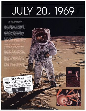 Ten Days That Shook the Nation - The Moon Landing,  1969