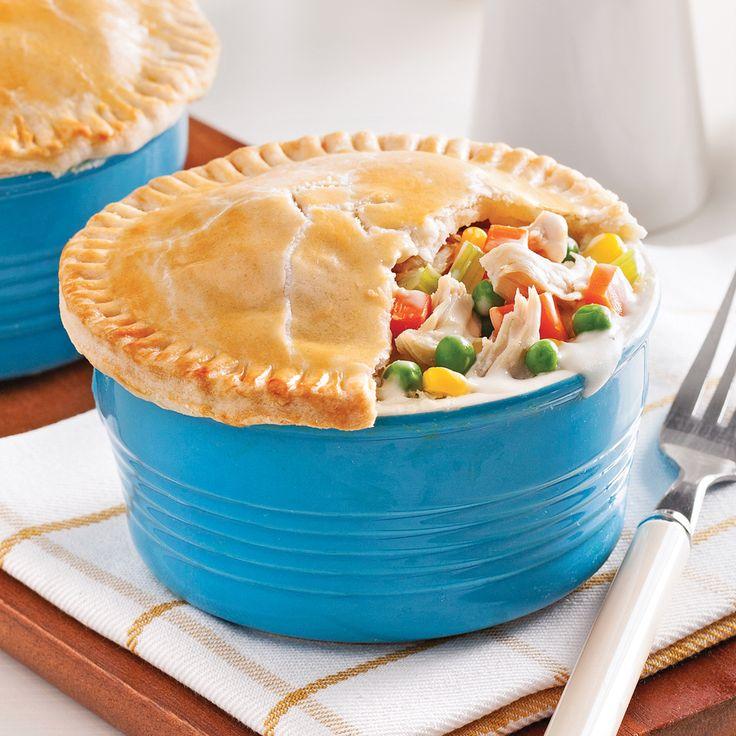 Mini-pâtés au poulet - Recettes - Cuisine et nutrition - Pratico Pratique
