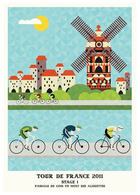ツール・ド・フランスのポスター