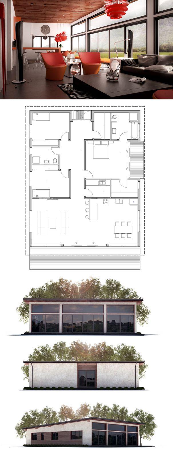 Simple Modern House Plan
