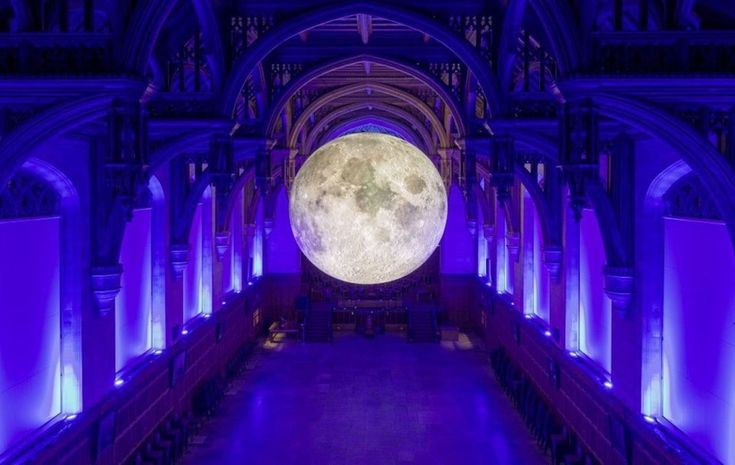 Museum of The Moon lands at Derry's Guildhall in time for Halloween - The Irish News