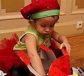 Костюм клубники + много идей для дня рожденья и рукоделок