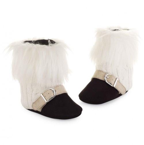 Faux Fur Trimmed Boots