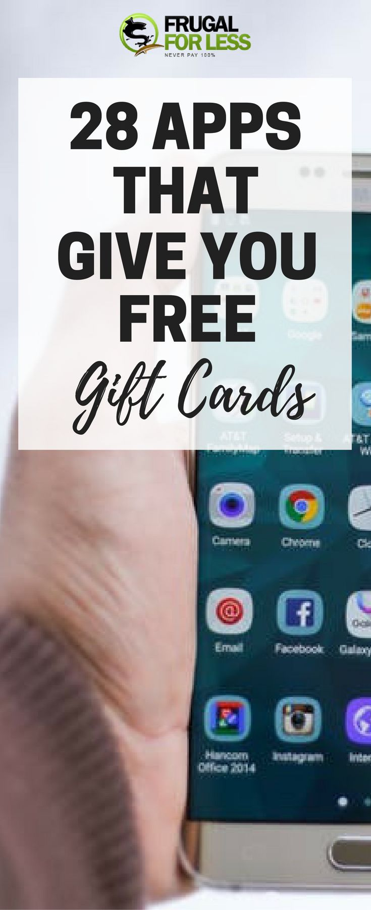 28+ Free Gift Card Apps That Actually Work (Updated 2019) – Frugal For Less | Frugal Living and Make Money From Home