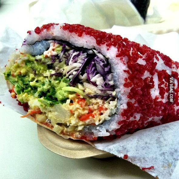 Sushirrito. People need to know this is a thing.