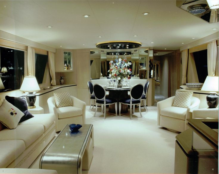 Yacht interior Luxury Pinterest Private jet flights Private