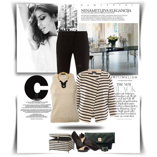 ...Minimalism On My Way... by vanjazaric6886 on Polyvore featuring мода, Moschino Cheap & Chic, Demylee, Alexander McQueen, Versace, Henri Bendel, Lara Bohinc, Bounkit and Trilogy
