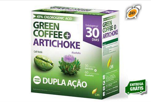 A solução para queimar gorduras e açúcares sem dietas ou exercicio. 30 Cápsulas de Café Verde e 60 Comprimidos de Alcachofra por apenas 17€ em vez de 39€. - Descontos Lifecooler