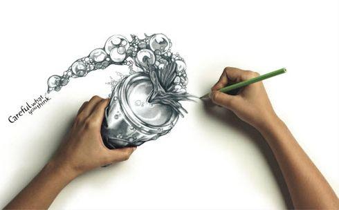interactive 3D paintings. #3D: 4D Artwork, Sketch, Art Drawing, Creative, Illustration, Wallpaper, Pencil Drawings, Design