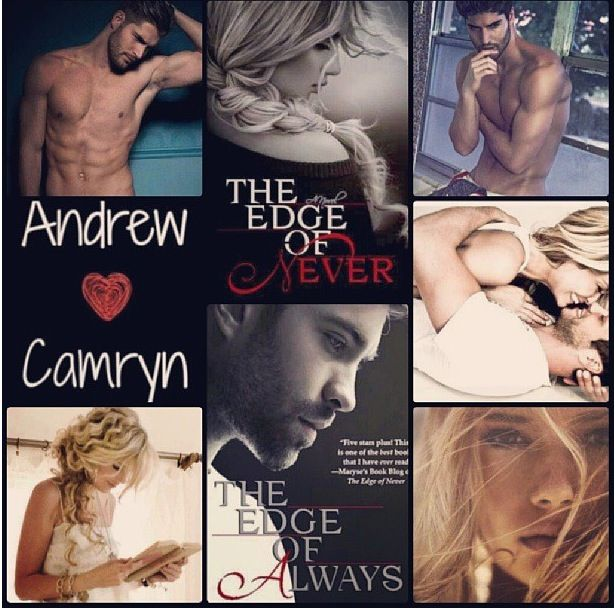 Book boyfriend alert! The Edge of Never, and the sequel, The Edge of Always..Oh..My..Gosh, these books <3