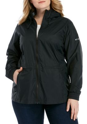 Columbia Plus Size Proxy Falls Rain Jacket