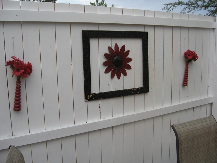 outdoor art wall hangings