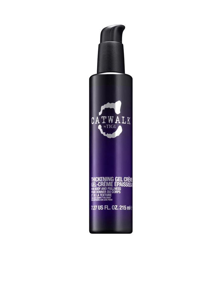 Thickening-Gelcreme von Tigi schützt das Haar und lässt es dicker und gesünder wirken mehr Volumen und Spannkraft, entwirrt und bändigt gekräuseltes Haar