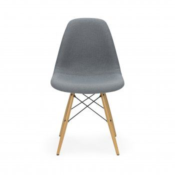 Style Grey Fabric Upholstered DSW Chair