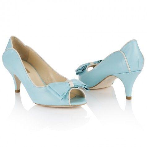 Lulu Azure Blue Leather | Rachel Simpson Shoes - NEEEEED!!!!!