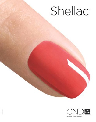12/27/11 Shellac nail polish(mult colors): smudge-proof color, dries