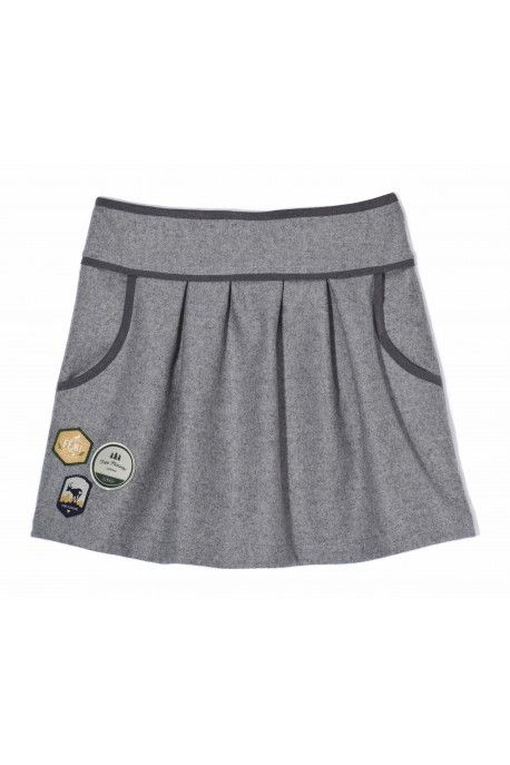 Femi Pleasure skirt LIBRI ash grey melange